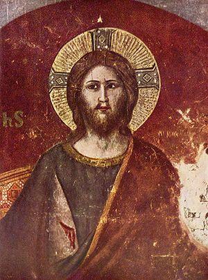 Jean Cholet - fresco in S. Cecilia, Cavallini