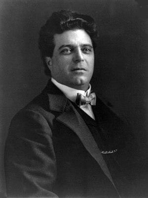 """Conservatorio Statale di Musica """"Gioachino Rossini"""" - Pietro Mascagni in 1902, his final year as Director of the conservatory"""
