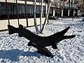 Pike from Kremenchuk sculpture (2018-12-02) 02.jpg
