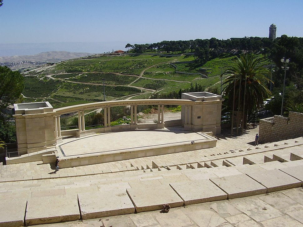 PikiWiki Israel 12185 amphitheater in mount scopus