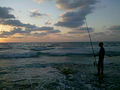 PikiWiki Israel 17311 fishing in the sunset.jpg