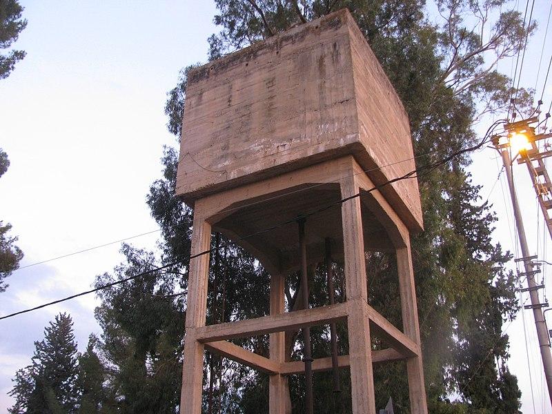 מגדל המים ביסוד המעלה