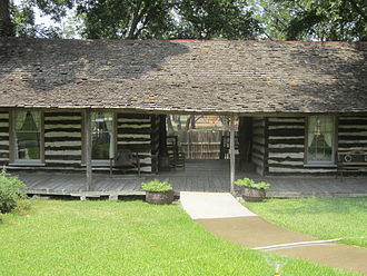 Corsicana, Texas - Pioneer Village in Beauford H. Jester Park in Corsicana.