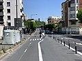 Piste cyclable Avenue Gabriel Péri Montreuil Seine St Denis 4.jpg