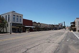 Pittsburg, Texas - Downtown Pittsburg, Texas
