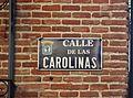 Placa de la calle de las Carolinas.JPG