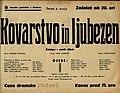 Plakat za predstavo Kovarstvo in ljubezen v Narodnem gledališču v Mariboru 2. maja 1940.jpg