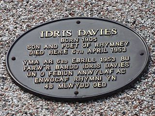Idris Davies Welsh poet