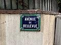 Plaque Avenue Bellevue - Le Pré-Saint-Gervais (FR93) - 2021-04-28 - 2.jpg