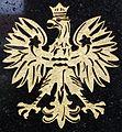 Plaque in Skepe closter (9) Polish Eagle.jpg