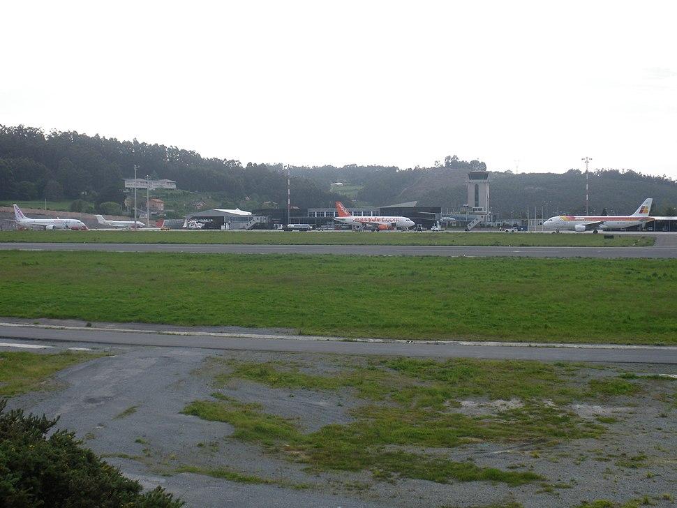 Plataforma del Aeropuerto de La Coruña