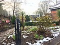 Platform garden at Poynton railway station.jpg