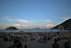 Shek O - Shek O Beach during a Sunday dawn.
