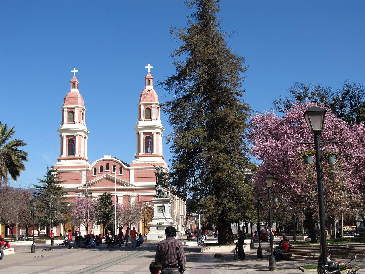 Plaza de los h roes rancagua wikipedia la for Ciudad santiago villas