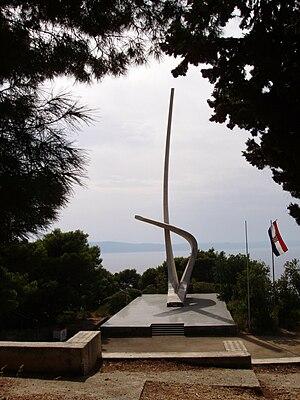 Podgora, Split-Dalmatia County - Image: Podgora Kroatien 3