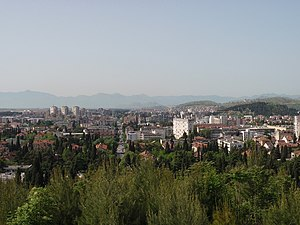 Podgorica - View from Gorica Hill