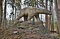 Polanica Zdroj socha medvěda v parku - panoramio.jpg