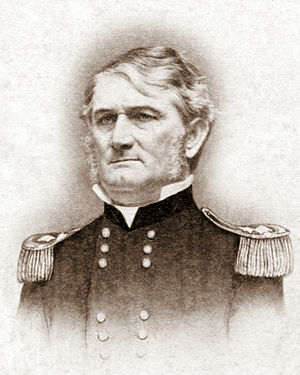 Meridian Campaign - Lt. Gen. Leonidas Polk, commander of Confederate forces during the Meridian Campaign