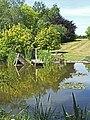 Pond at Hopleys Garden, Much Hadham - geograph.org.uk - 72958.jpg