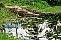 Pond with Ghat - Bardhaman Science Centre - Bardhaman 2015-07-24 1530.JPG