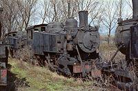 Ponferrada 04-1984 locomotives Baldwin MSP.jpg
