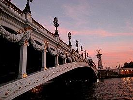 Pont Alexandre III, Paris, Frankreich