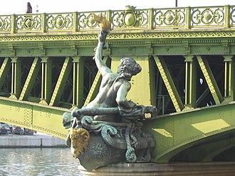 Jean Antoine Injalbert - Image: Pont mirabeau injalbert navigation