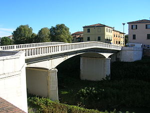 "Pontedera - ""Napoleonic"" Bridge in Pontedera."