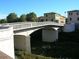 "Pontedera - ""Napoleonic"" Bridge in Pontedera."