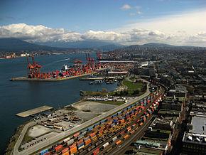 Hafen Vancouver (Containerterminal am Burrard Inlet)