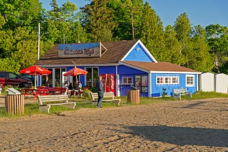 Port Elgin, Ontario - Most tourists visit to take advantage of the beach