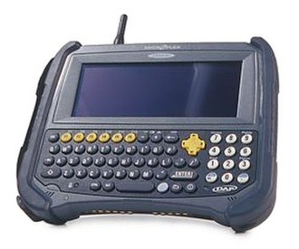 Portable data terminal - Typical PDT
