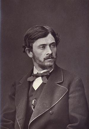 Henri Pille - Henri Pille in Galerie contemporaine, littéraire et artistiquec. 1875