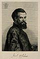 Portrait of Andreas Vesalius (1514 - 1564), Flemish anatomist Wellcome V0006031.jpg