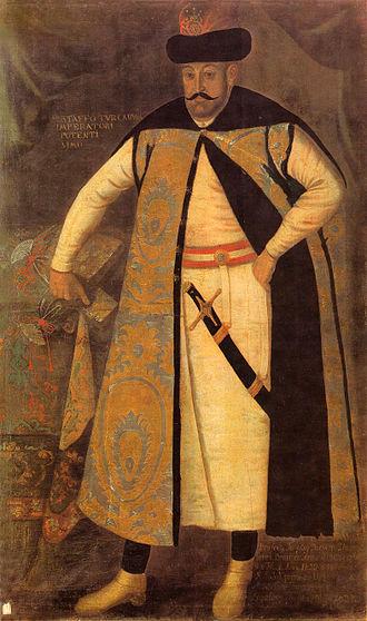 Szlachta - Ruthenian nobleman Krzysztof Zbaraski