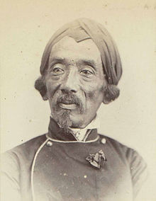 Portrait of Raden Saleh, 1863 - 1866 - Rijksmuseum.jpg