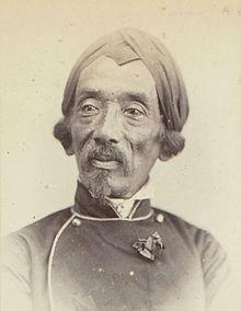 Portreto de Raden Saleh, 1863-1866 - Rijksmuseum.jpg