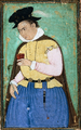 Portrait of a Portuguese gentleman drinking wine (c. 1600) - Indian, Mughal period.png