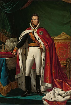 United Kingdom of the Netherlands - King William I, depicted in 1819