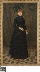 Portret van mevrouw C. De Vos - Lenaerts