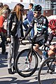 Portugal - Algarve - Lagos - 2016 Volta ao Algarve - Geraint Thomas with fan (25168143273).jpg