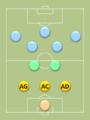 Positions au football des défenseurs dans un 3-2-5 (WM).png