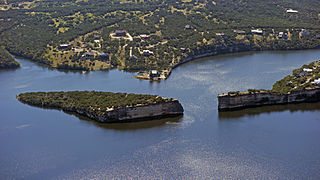 Possum Kingdom Lake lake of the United States of America