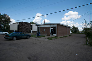 Fort Yates, North Dakota - U.S. Post office in Fort Yates
