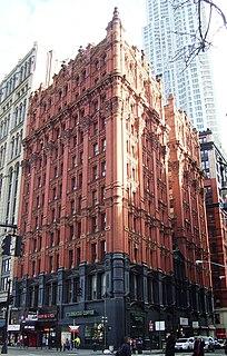 Potter Building Residential building in Manhattan, New York
