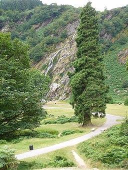 Powerscourt Waterfall, Co Wicklow - geograph.org.uk - 316308