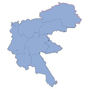 Racibórz County - Image: Powiat raciborski