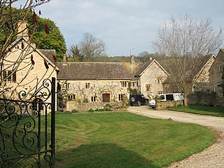 Poyntington village in the United Kingdom