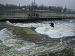 Prague-Troja Canoe Slalom RapidBlocs C-1 Paddler.jpg