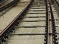 Praha, Smíchov, Anděl, rekonstrukce trati v Nádražní ulici, položené koljenice III.JPG
